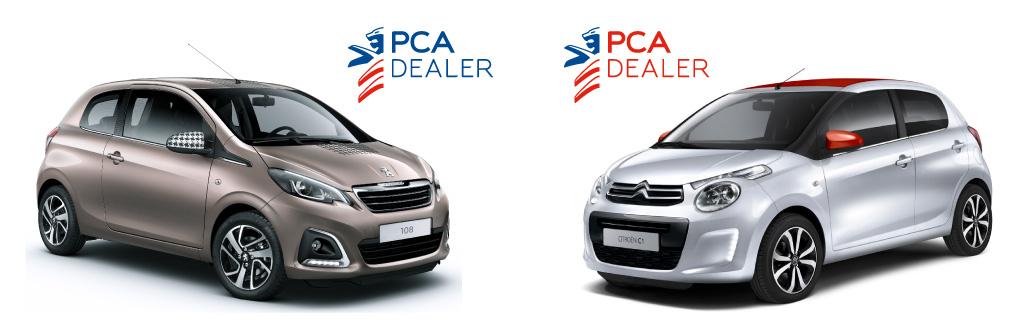 PCA Logo's
